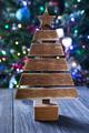 Christmas tree on background