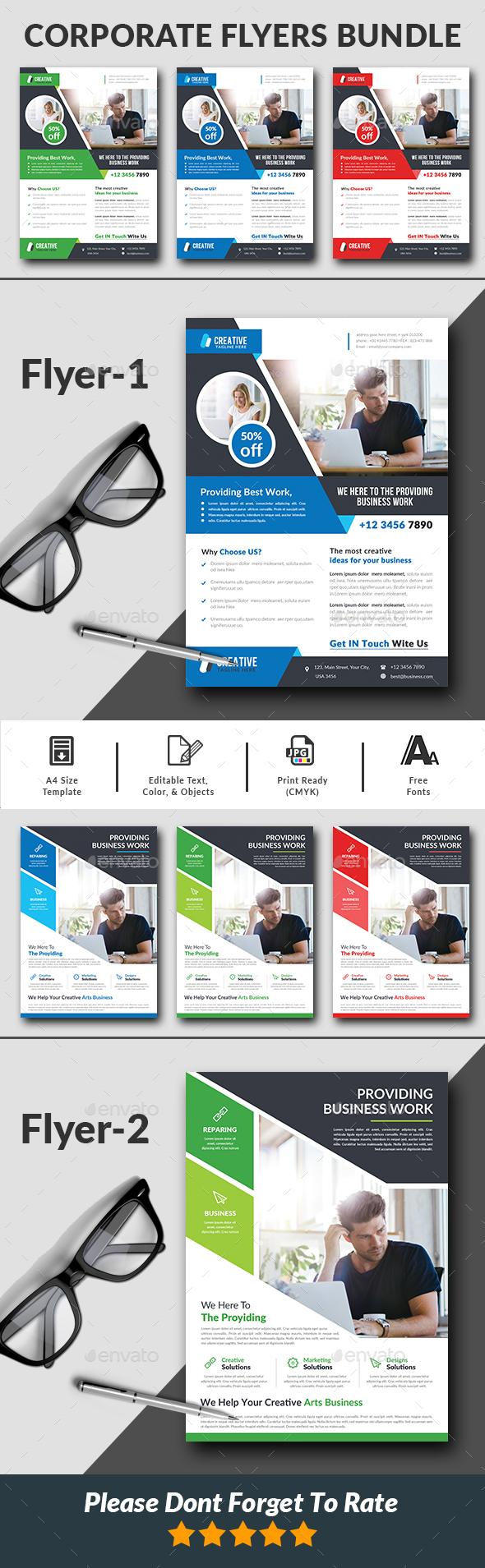 Corporate Business Flyers Bundle - Corporate Flyers