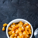Boiled corn kernels in white cups - PhotoDune Item for Sale