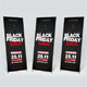Black Friday Banner and Door Hanger - GraphicRiver Item for Sale