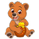 Bear with a Pot of Honey - GraphicRiver Item for Sale