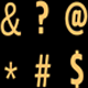 Symbols 3D Rotation