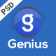 Genius - Products PSD Template - ThemeForest Item for Sale