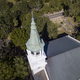 Aerial view of church and steeple in Beaufort, South Carolina - PhotoDune Item for Sale