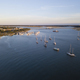 Aerial view of Beaufort South Carolina and harbor. - PhotoDune Item for Sale