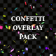Confetti Overlay Pack - VideoHive Item for Sale