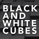 Black and White Cubes - VideoHive Item for Sale