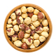 Roasted hazelnuts in wooden bowl - PhotoDune Item for Sale