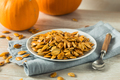 Homemade Roasted Spiced Pumpkin Seeds