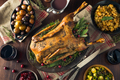 Homemade Festive Roasted Christmas Goose