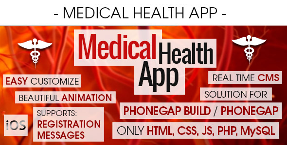 Medical Health App With CMS - iOS - CodeCanyon Item for Sale
