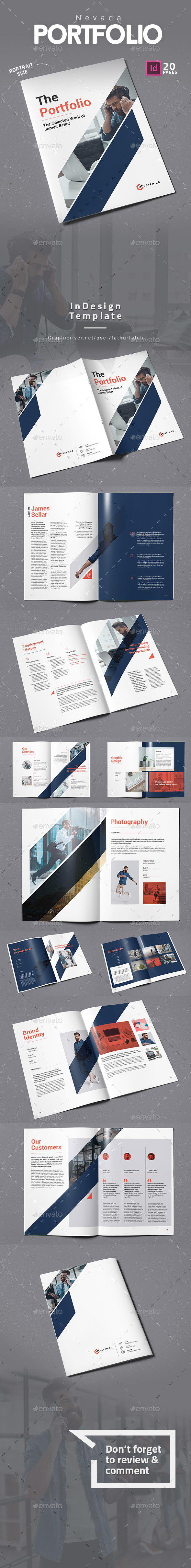 GraphicRiver Nevada Portfolio 20999296