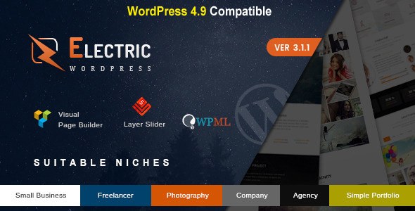 Electric - The WordPress Theme - 20