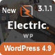 Electric - The WordPress Theme - ThemeForest Item for Sale