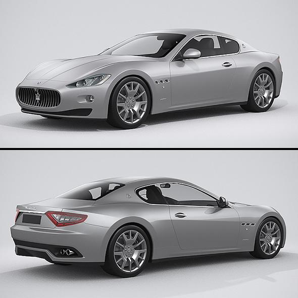 3DOcean Maserati Granturismo 2014 20999447
