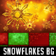 24 Snowflakes Backgrounds - GraphicRiver Item for Sale