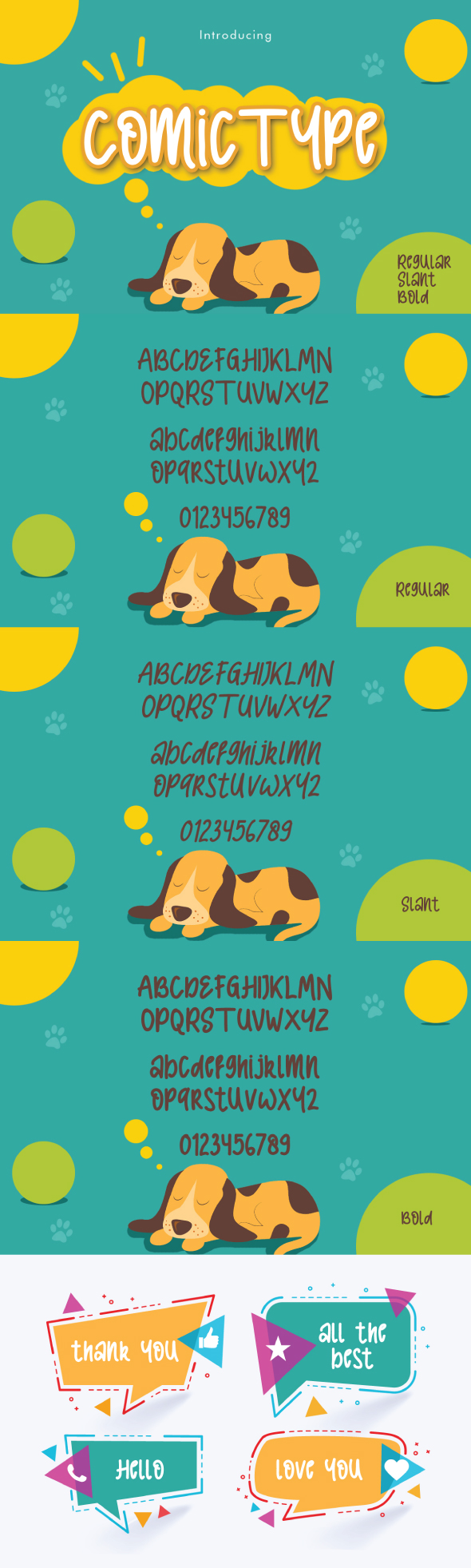 Comic Type - Handwriting Fonts