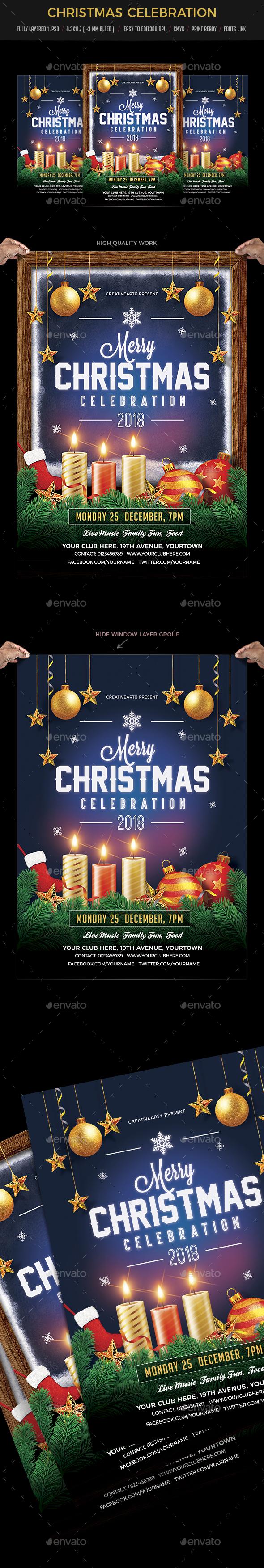 GraphicRiver Christmas Celebration 20999744