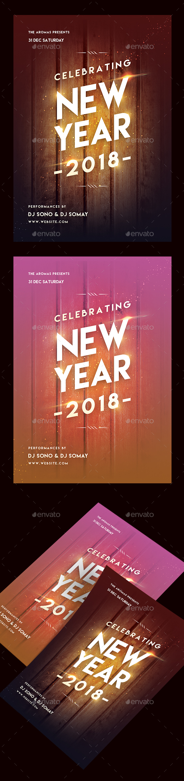GraphicRiver New Year Party Flyer 20999754