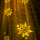 Christmas Heavenly Snowflakes 3 - VideoHive Item for Sale