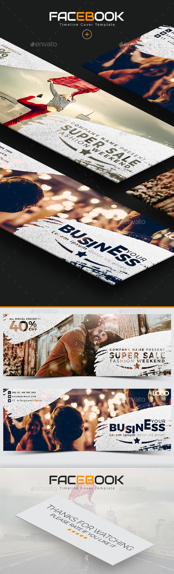 GraphicRiver Facebook Cover 20999905