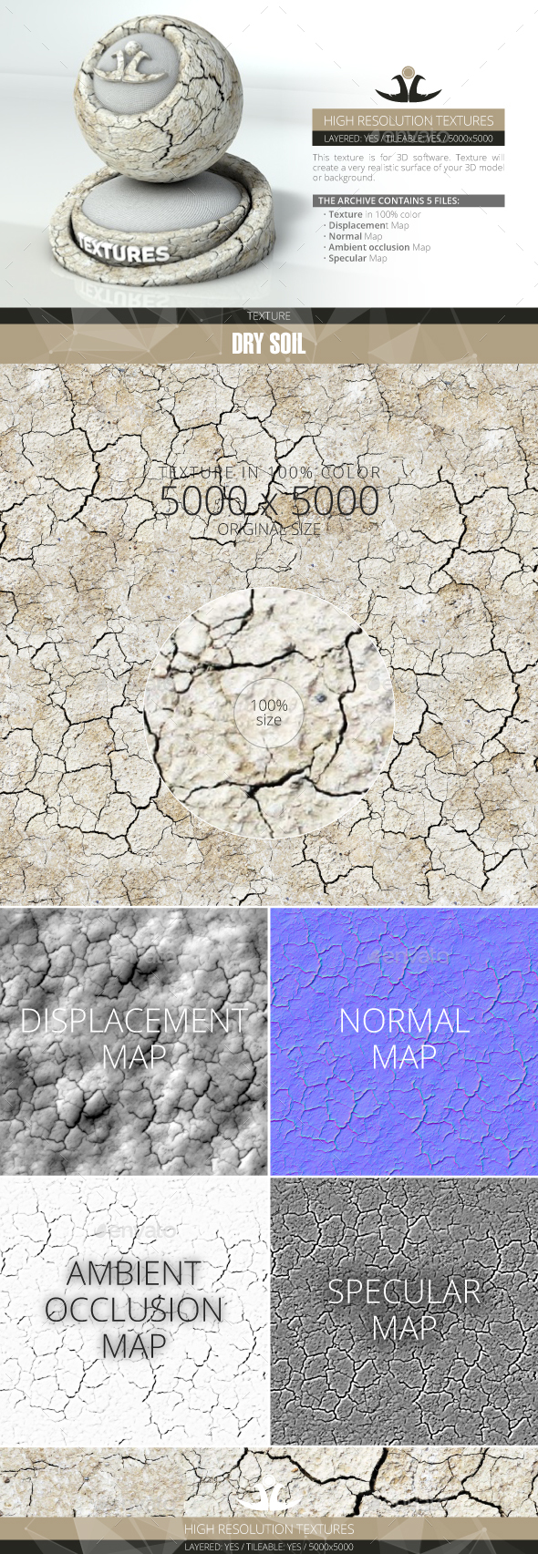 3DOcean Dry Soil 2 20999974