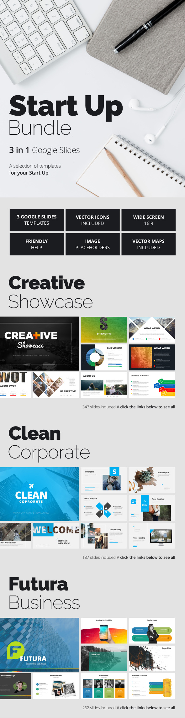 GraphicRiver Start Up Bundle 21000027