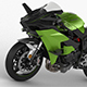 Kawasaki Ninja H2R - 3DOcean Item for Sale