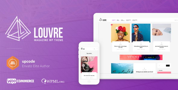 Louvre - Minimal Magazine and Blog WordPress Theme - Blog / Magazine WordPress