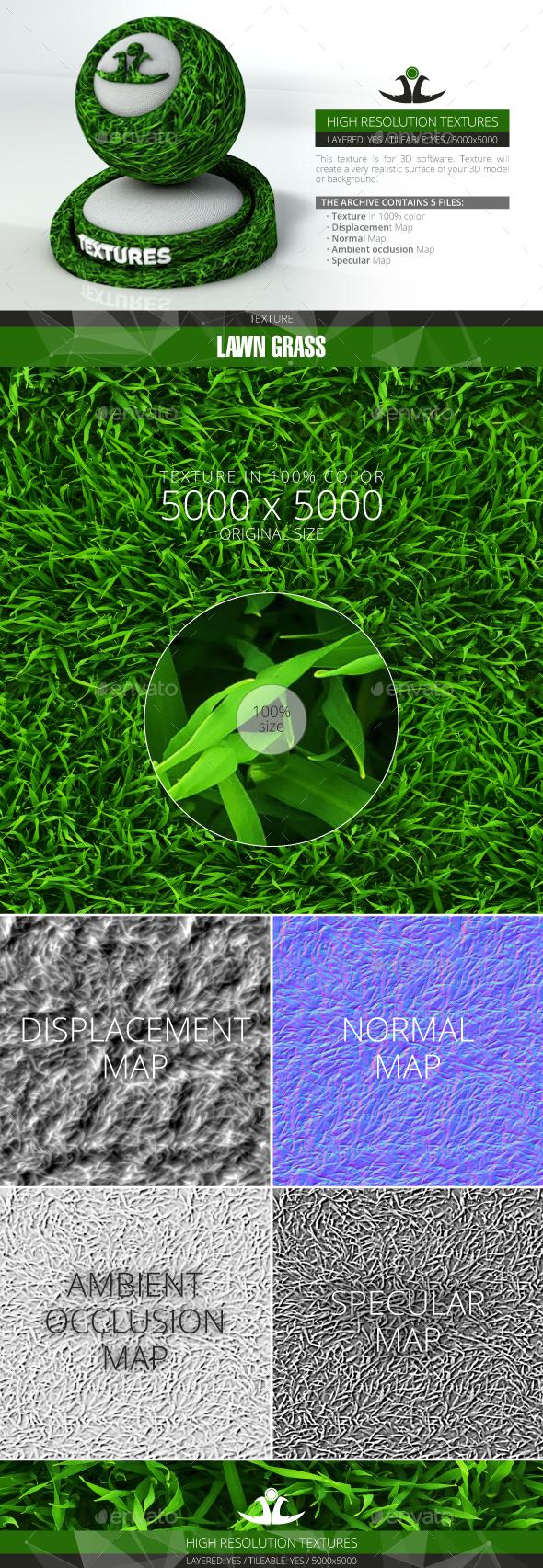 3DOcean Lawn Grass 6 21001333