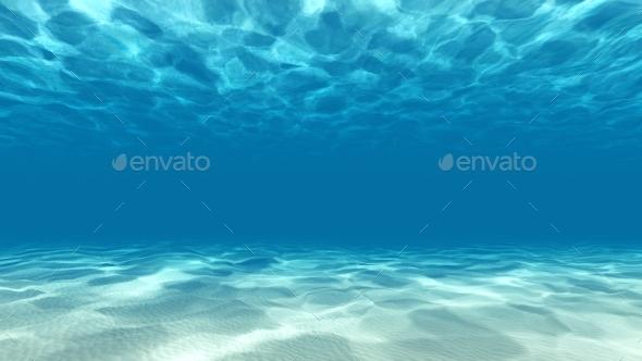 GraphicRiver Tranquil Underwater Scene 3D Render 21001359