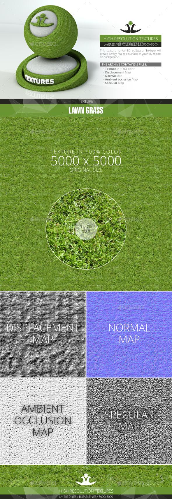 3DOcean Lawn Grass 11 21001361