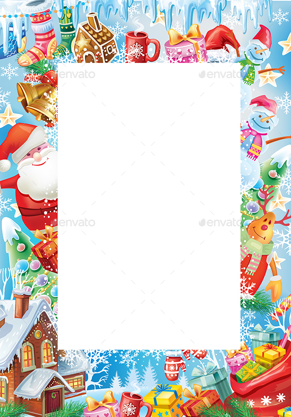 GraphicRiver Background for Christmas and New Year Card 20998417