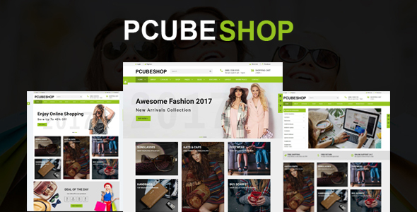 Download Pcube Shop Ecommerce HTML5 Template            nulled nulled version