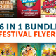 6 in 1 Mega Festival Bundle - GraphicRiver Item for Sale