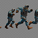 Group Of Fleeing Soldiers - VideoHive Item for Sale
