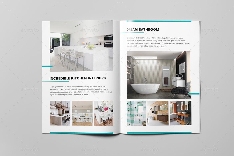 interior design brochures - mini brochure interior design a5 by artbart graphicriver