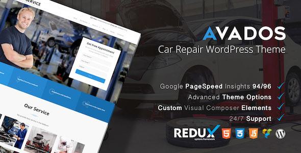 Avados - Car Service WordPress Theme - Business Corporate