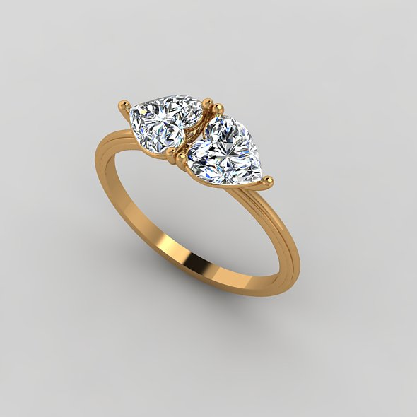 3DOcean Engagement Ring 20984625