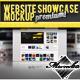 Website Showcase Mockup  - GraphicRiver Item for Sale