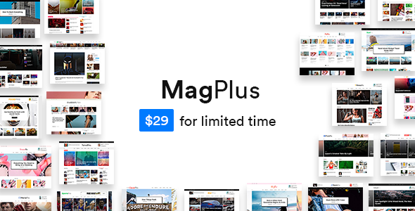 ThemeForest MagPlus Blog & Magazine WordPress Theme 19761728