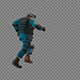 Running Armed Policeman - VideoHive Item for Sale