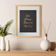 Light Interior Frame Artwork Mockup - Set 3 - GraphicRiver Item for Sale