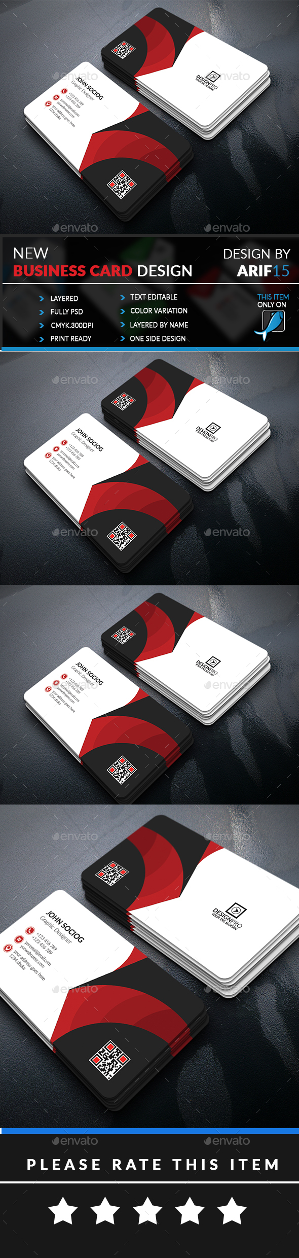 GraphicRiver Creative Business Card 21002358