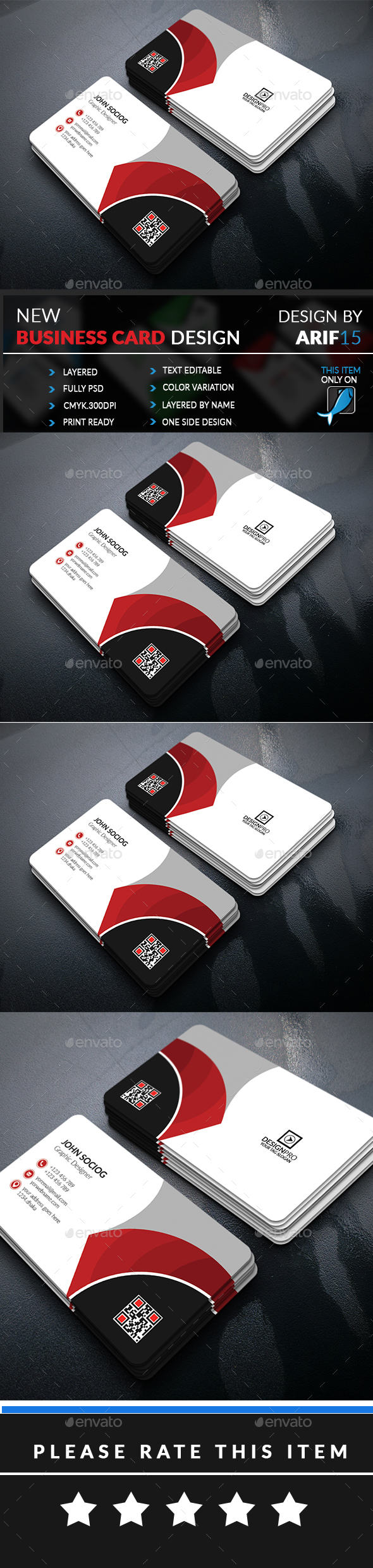 GraphicRiver Creative Business Card 21002362