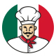 Italian Chef Mascot Logo