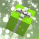 Green Falling Gift Boxes - VideoHive Item for Sale