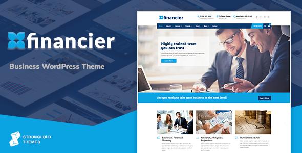 Financier - Business WordPress Theme - Business Corporate