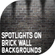 10 Spotlights on Brick Wall Backgrounds