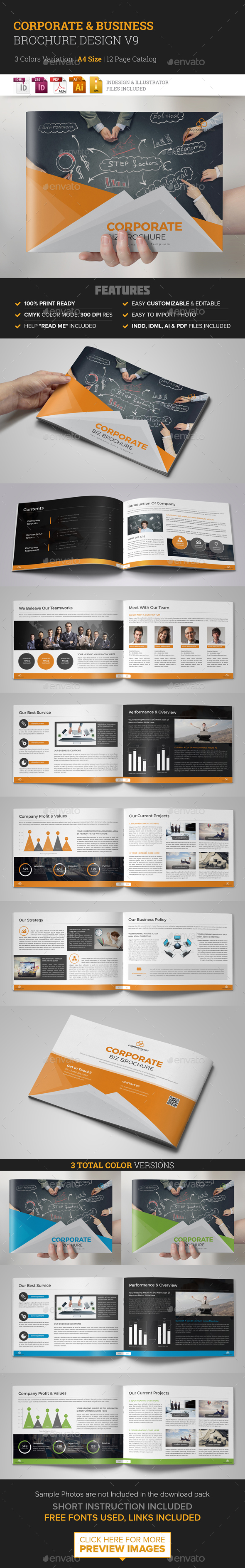 GraphicRiver Corporate Multipurpose Brochure Design v9 21002694